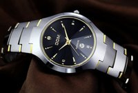 Wholesale Dom Watches - 2015 fashion brand watch Dom men tungsten steel 200m waterproof business casual wristwatch women clock mens watches male sports quartz watch