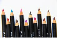 Wholesale 12 Eyes Lip Liner - free shipping--NEW hot makeup EYE LIP LINER PENCIL Brow Pencils 12 different colors (36pcs lot)