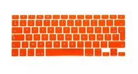 Wholesale-1pcs Fr Französisch AZERTY-Tastatur-Haut-Film für Macbook Mac Book Pro Retina 13 15 EU-Europa-Version Silikon Laptop Keyoboard Abdeckung