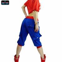 Wholesale Harem Jazz Sport Pants - sexy hiphop hip-hop pants female loose casual sports pants harem pants DS nightclub jazz dance costumes