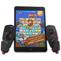 ingrosso staffe per ipad-IPEGA PG-9055 Joystick per controller wireless di gioco Bluetooth con staffa elastica per smartphone iOS per Android TV TV Box