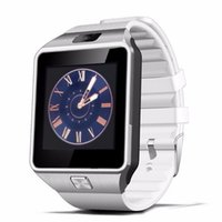 smartwatch handsfree оптовых-DZ09 смарт-часы телефон Bluetooth Smartwatch GSM SIM-карты громкой связи для Android IOS смартфон iPhone 6 Plus Samusung Оптовая