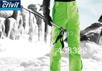 Wholesale Crivit Free Shipping - Wholesale-FREE SHIPPING,CRIVIT Snowboard Pants S-M-L-XL waterproof skiing and snowboard pantING ,high quality ski pant for men,2015 new