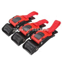 Wholesale Wholesale Small Atv - New 3pcs Quick Release Buckle Motorcyle Bike ATV Helmet Chin Strap Speed Clip small order no tracking