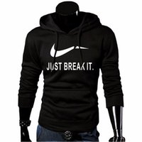 Wholesale Thick Hoodies Wholesale - Wholesale- 2017 New Brand Sweatshirt Men Hoodies Fashion Solid Fleece Hoodie Mens Pullover Men's Tracksuits Moleton Masculino
