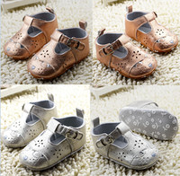 Wholesale Gold Baby Sandals - Drop shipping!kids casual shoes!gold silver toddler shoes,soft baby shoes,0-18 M newborn sandals,infant walking shoes!12pairs 24pcs.C