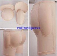 Wholesale Crossdresser Pads - Cotton Pad Buttock enhancer Pads Padded Rear Butt Hips Enhancer Shaper Girdle Underwear Crossdresser Brand New