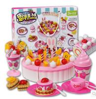 juguetes al por mayor de juegos para nios a cortar el juguete juguete de la torta de cumpleaos de las nias