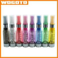 Wholesale Mt3 Wick Dhl - CE4 Clearomizer Ego Atomizer Colorful Electronic Cigarette CE4 Tank with Long Wick 1.6ML VS CE5 CE6 MT3 Atomizer DHL Free