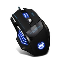 spider computer mouse - ZELOTES Spider Logo DPI Buttons Wired LED Optical USB Computer Gaming Mouse Mice For Pro Mouse Gamer
