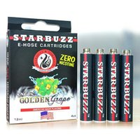 Wholesale starbuzz hoses wholesale online - 2015 hot selling starbuzz cartridges starbuzz ehose cartridges E Hose Cartridge Starbuzz Flavors for starbuzzk E Hose Cartridges