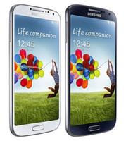 s4 baterias venda por atacado-Original Samsung Galaxy S4 I9505 I9500 Com Bateria Original Quad Core 5.0 polegada 1080 P 2 GB / 16 GB 13MP 3G 4G Telefone Celular Recondicionado