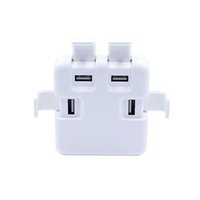 Wholesale Ipad Covers Uk - 20 W Or 40 W Fast charger USB Charger 4 Ports With Safty Cover Power Adapter Compatible With Mobile Phone for iPad iPhone iPod And Tablets