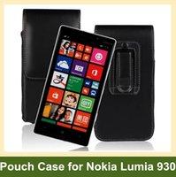 ingrosso casi per lumia-Custodia a flip verticale in pelle per PU per Nokia Lumia 930