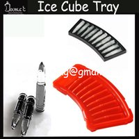 3D Ice Cube Tray Factory Atacado Moda ideia legal Gun Bala Forma Jelly doces bolo Ice Silicone Mould Mold Baking Pan Bandeja