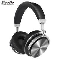 Wholesale Headphones Active Noise - Bluedio T4 Wireless Headphones Active Noise Cancelling Wireless Bluetooth 4.2 Headphones Wireless Headset with Microphone Free Shipping