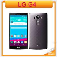 Wholesale 32gb storage - Original Unlocked LG G4 Hexa H815 H810 H811 H818 5.5 Inch Smartphone 3GB+32GB Storage 8MP Camera GPS WiFi LG refurbished phone