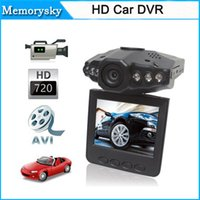 "Wholesale Road Video - New 2.5"" Camcorder LCD 120 dgree HD Car DVR Road Dash Video Camera Recorder Cycle Record Motion Detect Night Vision 111180C"