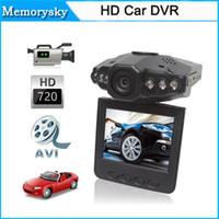 "Wholesale Car Cameras Record Road - New 2.5"" Camcorder LCD 120 dgree HD Car DVR Road Dash Video Camera Recorder Cycle Record Motion Detect Night Vision 111180C"