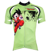 Wholesale Cool Cycling Jerseys Men - Pearl Animation Green Cycling Jersey Cool Cartoon summer quick dry Short Sleeve Cycling Clothes free shipping