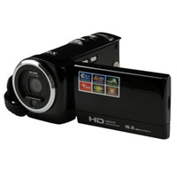 Câmeras de vídeo HD-C6 Câmera de vídeo 720P HD 16MP 16x Zoom Camcorder de vídeo digital TFT LCD de 2,7 ''