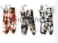 Wholesale Marilyn Monroe Lanyards - wholesale lots 10 Pcs Marilyn Monroe mobile Phone card lanyard neck straps Gifts free shipping