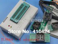 programadores de rendimiento al por mayor-TL866A USB de alto rendimiento Programador universal de Willem, compatible con la interfaz ICSP + Toma SOP8 SOP16 PLCC32 PLCC44 + Selector de IC orden $ 18no track