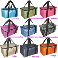Wholesale Pack Lunch Bag Black - Wholesale-Double Insulation Cotton Jumbo Ice Pack Insulation Package Lunch Bag Bottle Package Free Shipping