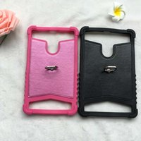 Wholesale Mtk6577 Cases - Universal TPU tablet case For MTK6577 MTK6572 MTK8312 7 inch ring Colorful TPU Soft Silicone Case Cover Shell