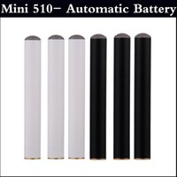 Wholesale Electronic Cigarette Automatic Battery - Mini 510- Automatic Battery 180mAh no power button EGO Mini 510 Atomizer Electronic Cigarette without button full in stock factory price