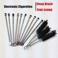 Wholesale Dry Herb Electronic Cigarettes - Cleaning Brush Packing Wax Dabber Tool for Ago Dry Herb Wax Vaporizer Pen Kit Atmos Kit Electronic E Cigarette Kit