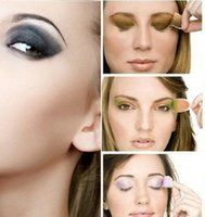 Wholesale Magic Instant Eye Shadow - Free shippingNewest 1-55 colors 12pairs Instant Eyeshadow sticker, magic eyes tattoo ,eye shadow