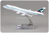 pacific metals - cm Alloy Metal Air HongKong Cathay Pacific Airlines Plane Model Boeing B747 B HKD Airways Airplane Model Aircraft Mode Toy
