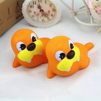 Wholesale Lion Doll - 12cm Squishy Sea Lion Slow Rising Squeeze Stress Reliever Pinch Toy Kawaii Animals Doll Kids Home Decor Gift OOA3539