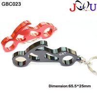 Wholesale Motorcycles Bottle Openers - (500pcs lot)Customized motorcycle style bottle opener key ring mix colors best promotion gift free shipping and engraving