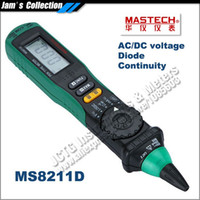 Wholesale Pen Type Digital Multimeter - Mastech MS8211D Pen-type Digital Multimeter Logic Level Test Auto-ranging Current Measurement