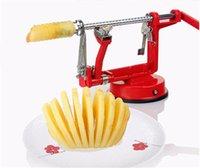 Wholesale Stainless Steel Apple Peeler - Apple peeler fruit peeler slicing machine   stainless steel apple fruit machine peeled tool creative kitchen tools