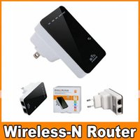 Wholesale Repeater Wlan - 300 Mbit Hotspot LAN CE WAN Wireless 5 in 1 Repeater Mini Router WPS Wifi WLAN US EU UK Plug Free DHL OM-CF2