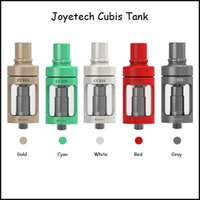 Wholesale Genuine Joyetech Wholesale - Genuine Joyetech Cubis Tank 3.5ml Top Refilling Cup Design Cubis Tank with SUS316 0.5ohm 1.0ohm Clapton 1.5ohm Coil