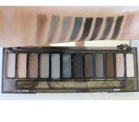 Wholesale nude smoky palette 12 color eyeshadow for sale - AAAA quality Makeup NUDE Smoky Palette Color Eyeshadow Palette fast shipping by dhl Chrismas gift for your friend