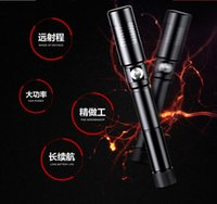 Wholesale Star Battery Charger - wholesale 450nm High Power Blue Laser Pointer Lazer Pen Light Adjustable Focus Burning Match Without Battery Charger 5 stars Caps