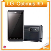 Wholesale Cheap Android 5mp Phone - 2016 Unlocked Original LG Optimus 3D P920 Cell phone Android Wifi GPS 5MP Camera 4.3'' Screen Cheap Android Smartphone Free Shipping