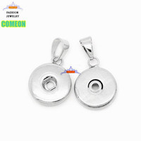 Wholesale D Pendants - Interchangeable ginger snap buttons accessories D I Y jewelry accessory fit 18 mm snap buttons,best gift.