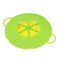 Wholesale Silicone Cooking Tools Flower Cookware Parts Boil Over Spill lid Stopper Oven Safe For Pot Pan Cover Multi function TY1554