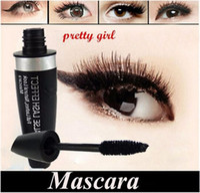 échantillons de maquillage livraison gratuite achat en gros de-Nouveau Maquillage Yeux Beauté cils Mascara noir 13.1 ml Mascara Imperméable DHL Livraison gratuite + CADEAU échantillon