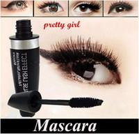 makyaj örnekleri ücretsiz gönderim toptan satış-Yeni Makyaj Gözler Güzellik kirpik Maskara siyah 13.1 ml Su Geçirmez Maskara DHL Ücretsiz kargo + HEDIYE Örnek