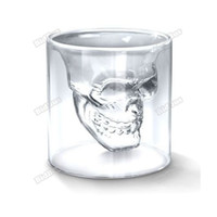 Wholesale Shot Glass Cool - Wholesale-bidbus Useful! Cool Crystal Skull Head Vodka Shot Wine Glass Drinking Ware Home Bar 2.5 Ounces Effectively!