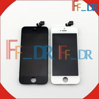 Wholesale Cheap Pixel Screen - Cheap High quality lcd for Iphone 5 Lcd Display assembly no dead pixels Screen lcd for Iphone 5 Free Shipping OEM