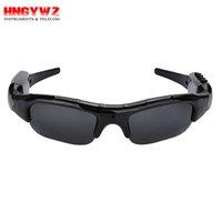 Wholesale Music Dvr Recorder - 720p Smart sunglasses Camera Eyewear Music Glasses Support TF Card Video Recorder DVR DV MP3 Camcorder
