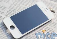 conjunto de telas para iphone venda por atacado-Em estoque lcd para iphone 5s 5c 5g original iphone 5 lcd touch screen iphone lcd conjunto completo assembléia branco e preto cor